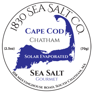 Gourmet Sea Salt by 1830 Sea Salt located on Cape Cod
