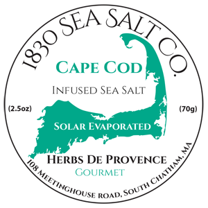 Herb De Provence Sea Salt by 1830 Sea Salt located on Cape Cod